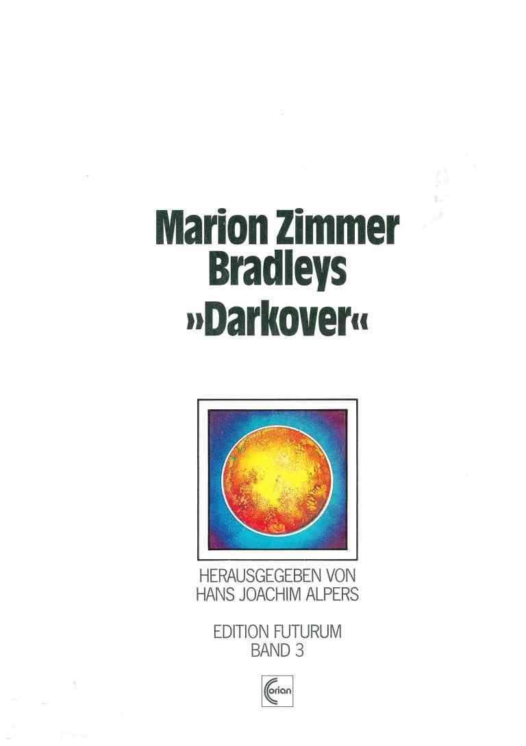 "Marion Zimmer Bradleys ""Darkover"" - Titelcover"