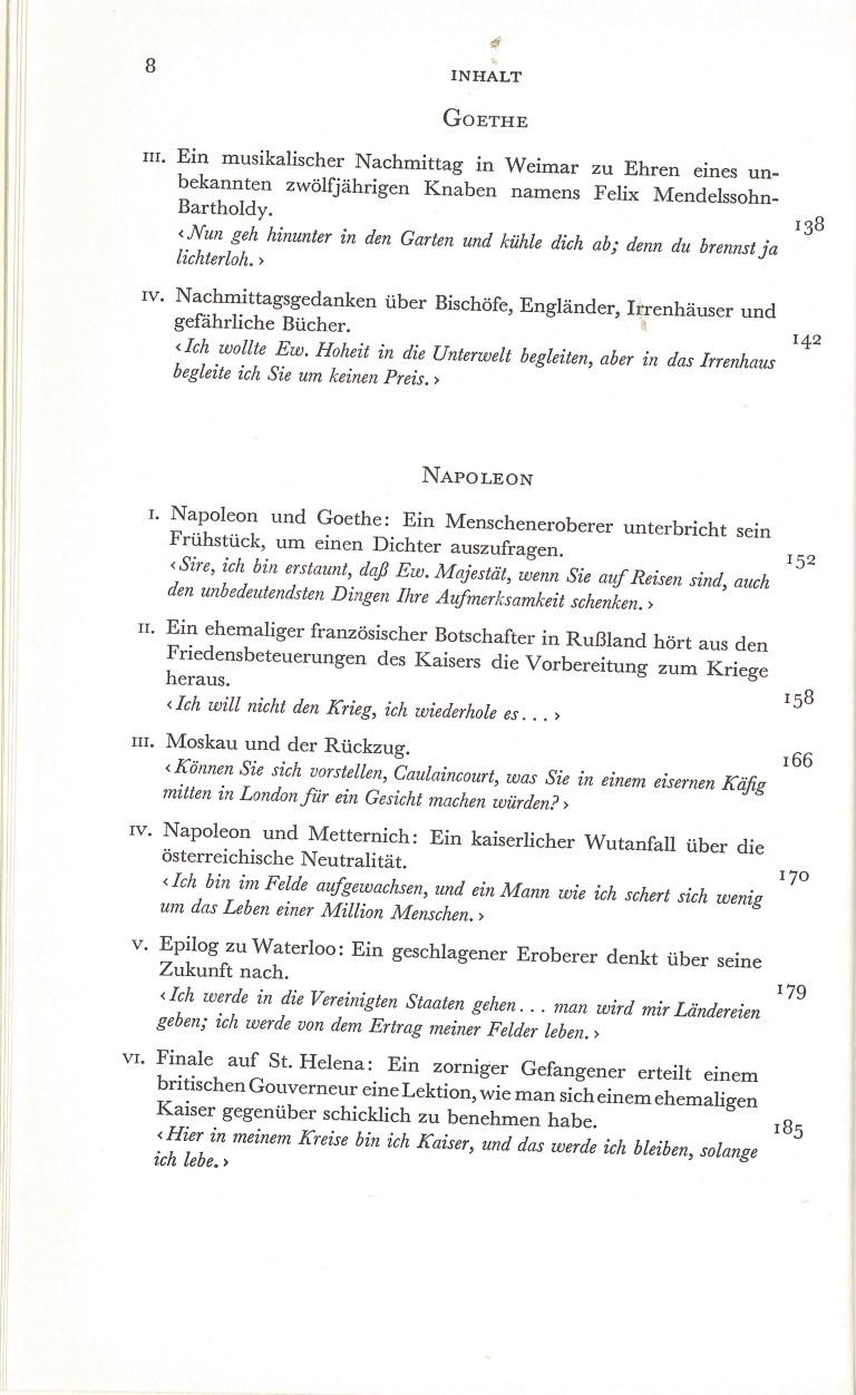 Große Gespräche - Inhalt Seite 3