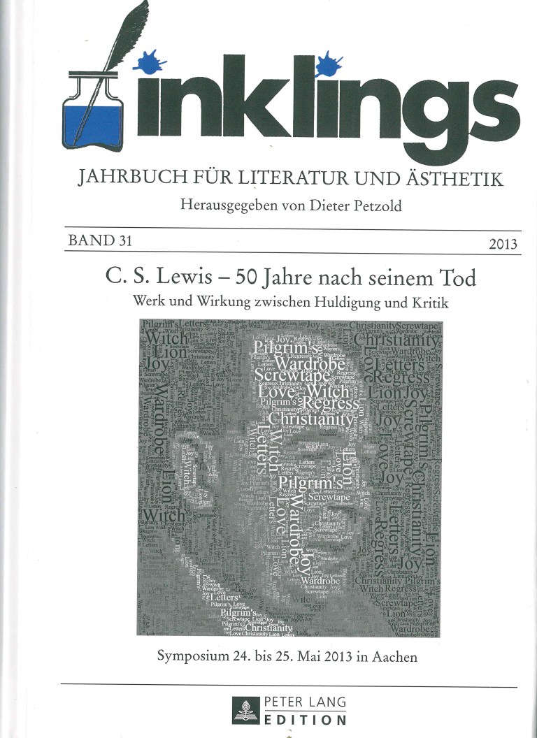 Inklings - Jahrbuch, Nr. 31 - Titelcover