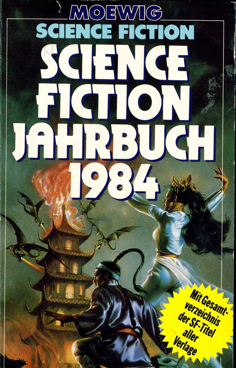 Science Fiction Jahrbuch 1984 - Titelcover