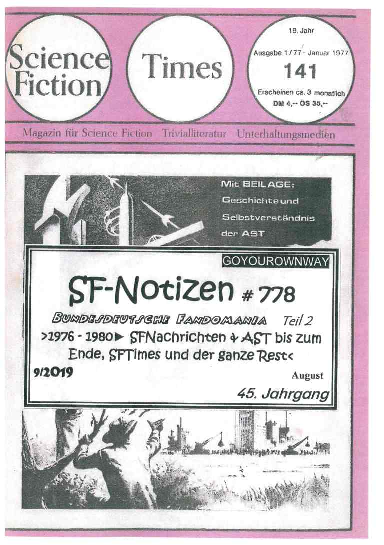 SF-Notizen 778 - Titelcover