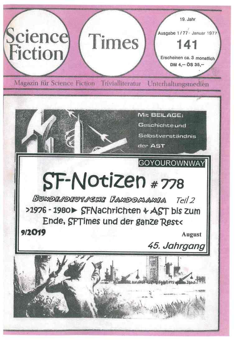 SF-Notizen 778 - Titelcover