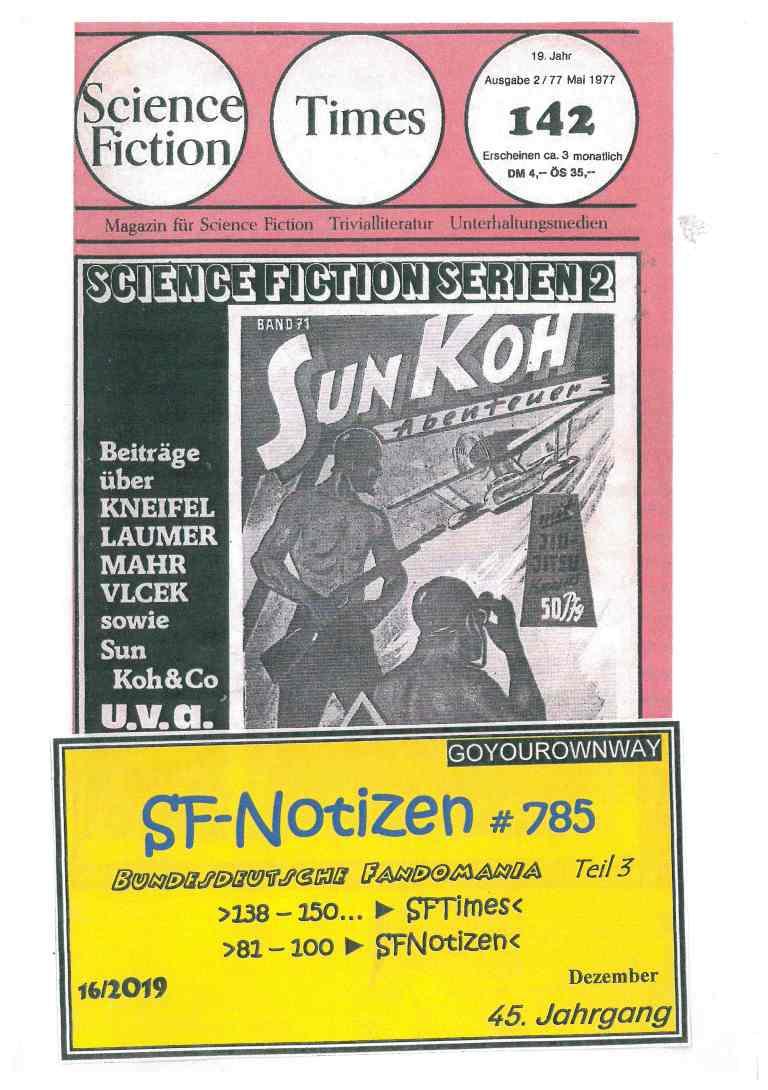 SF-Notizen 785 - Titelcover