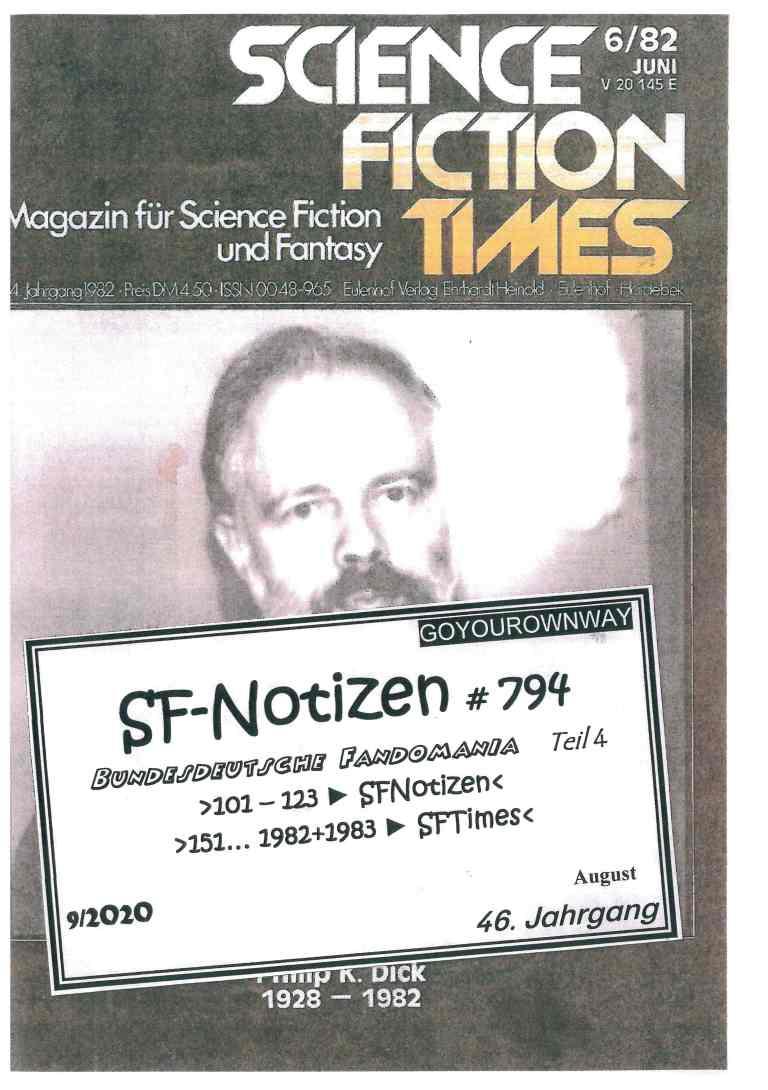 SF-Notizen 794 - Titelcover