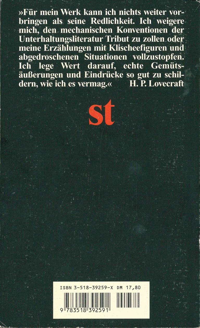 Azathoth (PhB 349) - Rückencover