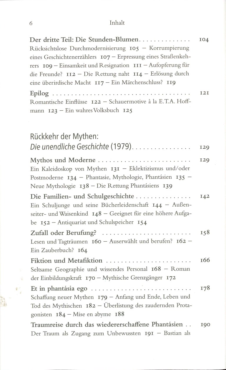 Michael Ende neu entdecken - Inhalt Seite 2