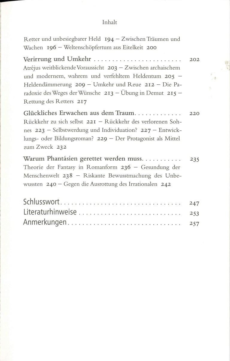 Michael Ende neu entdecken - Inhalt Seite 3