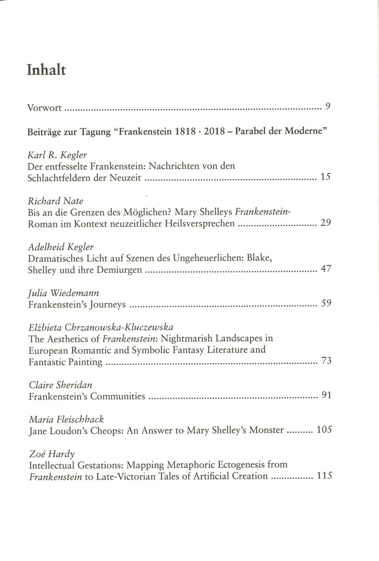 Inklings, Band 36 - Inhalt Seite 1