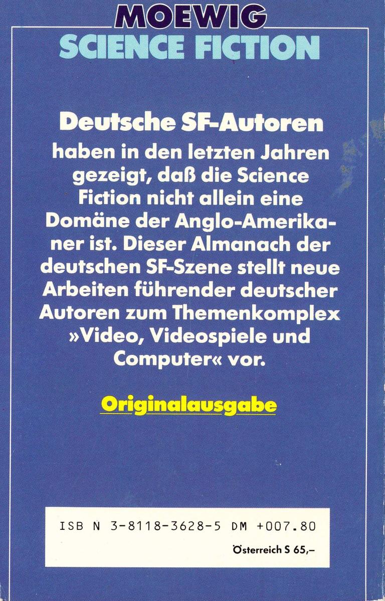 Science Fiction Almanach 1984 - Rückencover