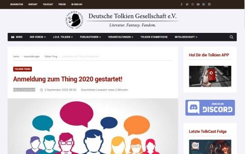 tokiengesellschaft - Thing 2020