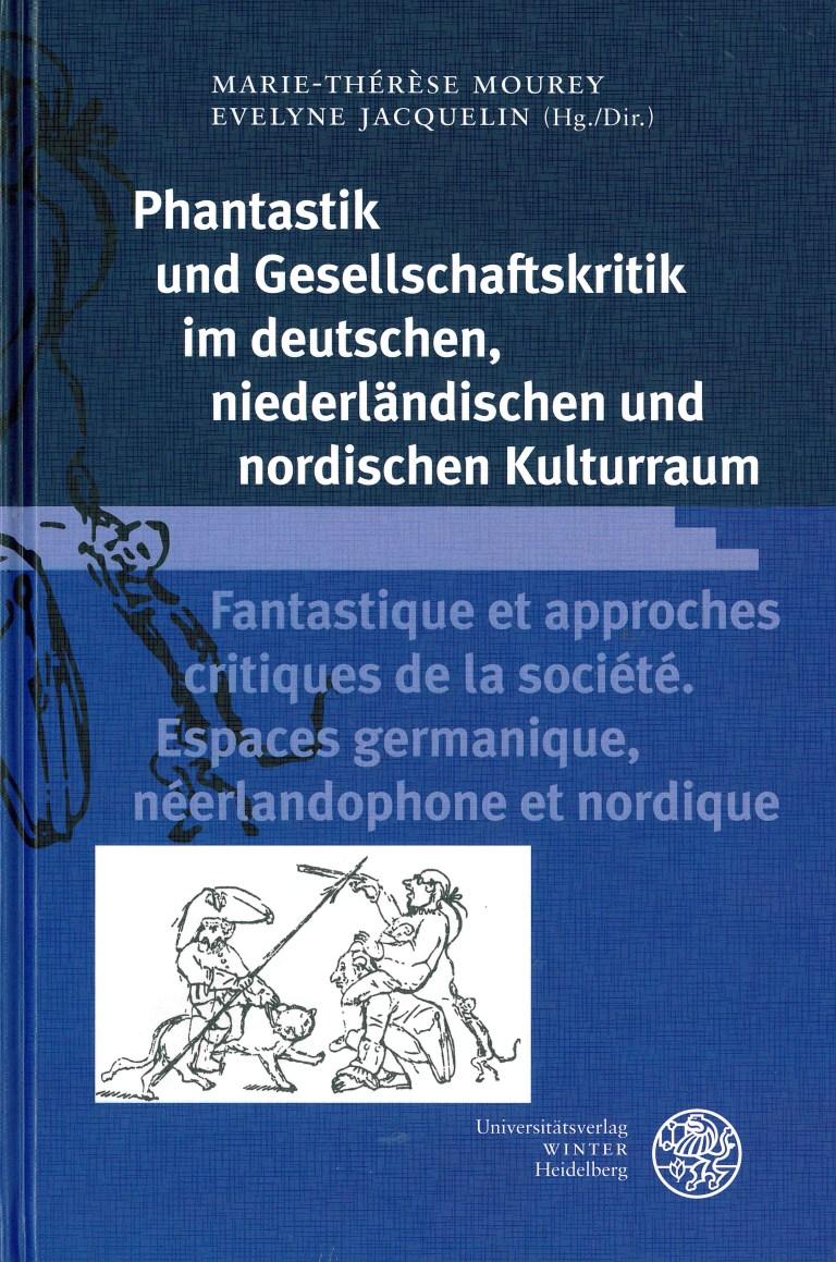 Phantastik und Gesellschaftskritik im deutschen, niederländischen und nordischen Kulturraum - Titelcover
