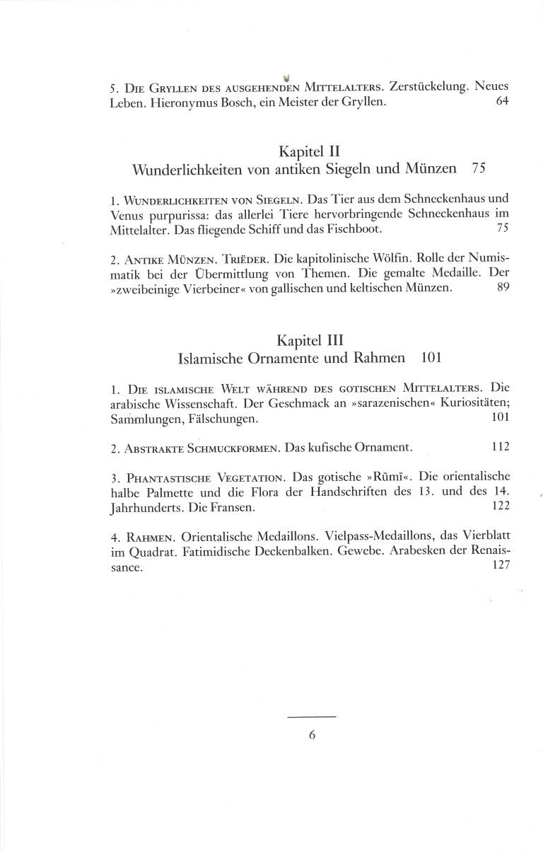 Das phantastische Mittelalter - Inhalt Seite 2