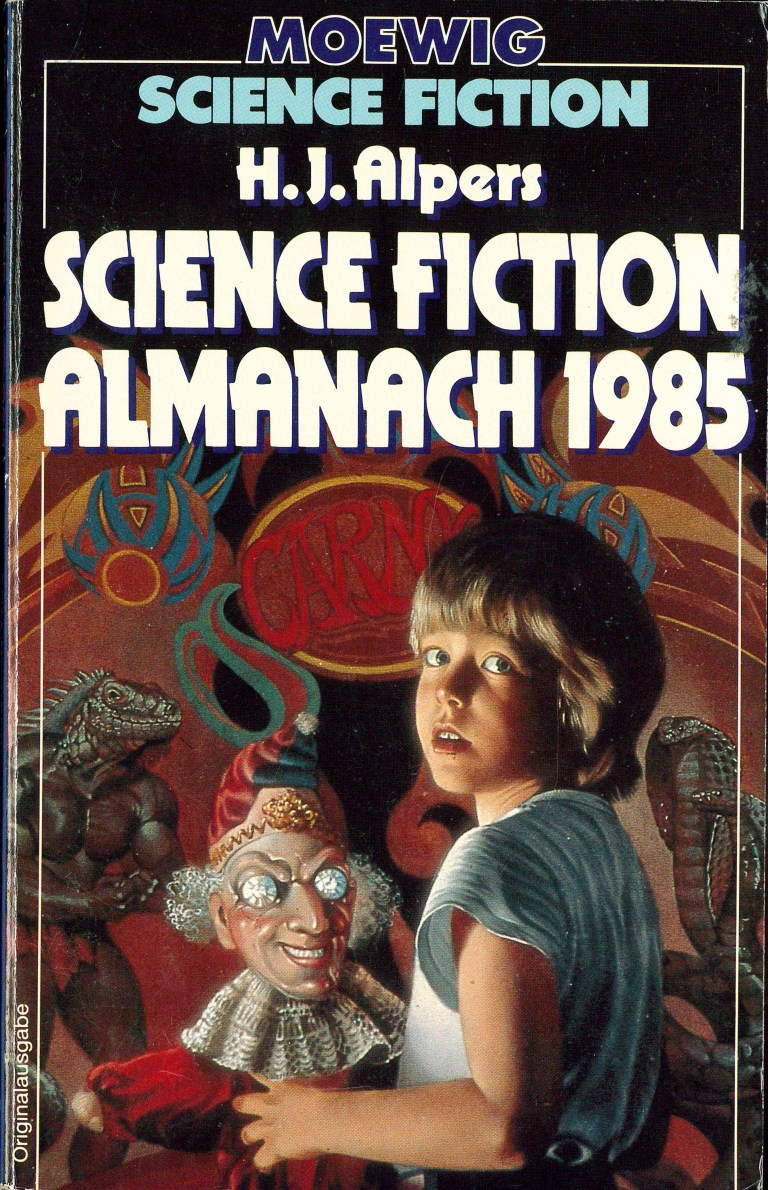 Science Fiction Alamanach 1985 - Titelcover