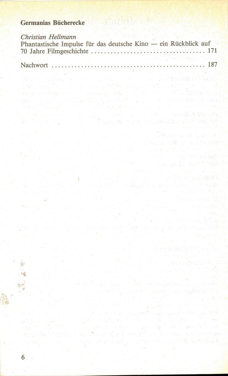 Science Fiction Alamanach 1985 - Inhalt Seite 2