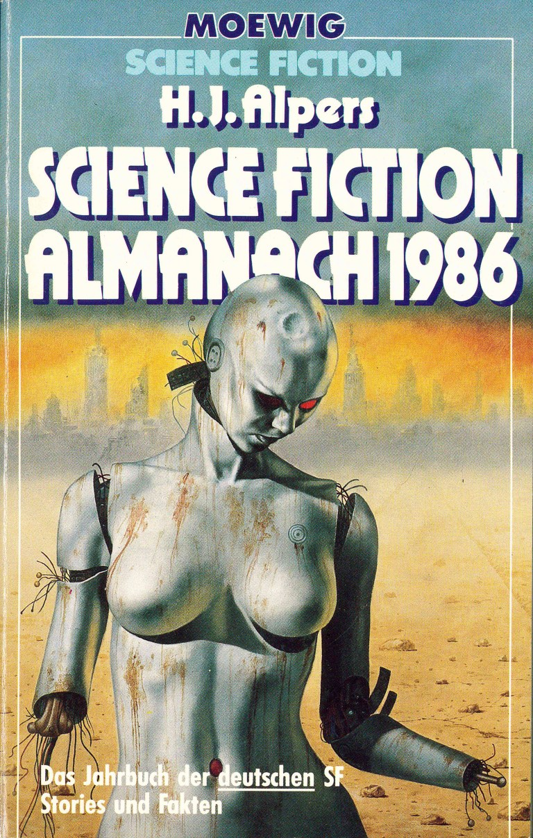 Science Fiction Almanach 1986 - Titelcover