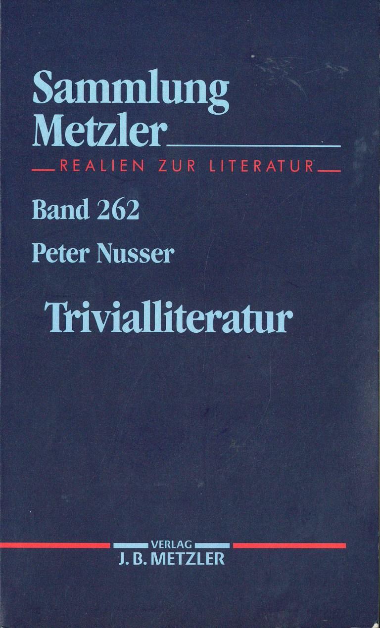 Trivialliteratur - Titelcover