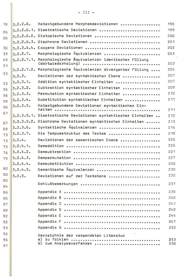 """Die Verfahren der Textbildung in J.R.R. Tolkiens """"The Hobbit"""" - Inhalt Seite 3"""
