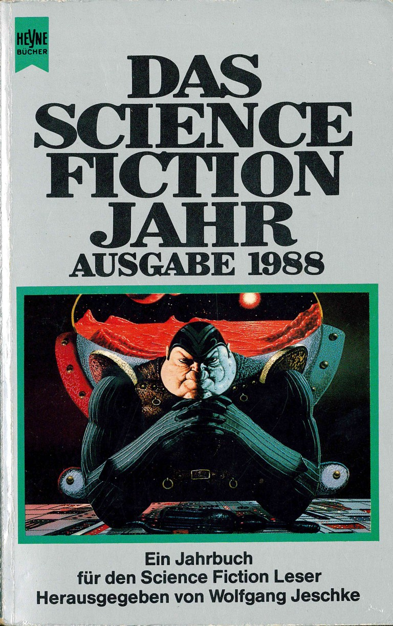 Science Fiction Jahr 1988 - Titelcover