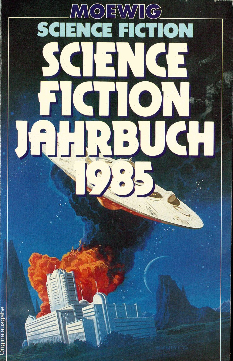 Science Fiction Jahrbuch 1985 - Titelcover