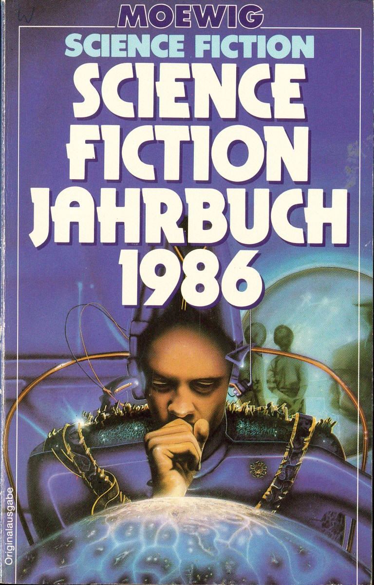 Science Fiction Jahrbuch 1986 - Titelcover