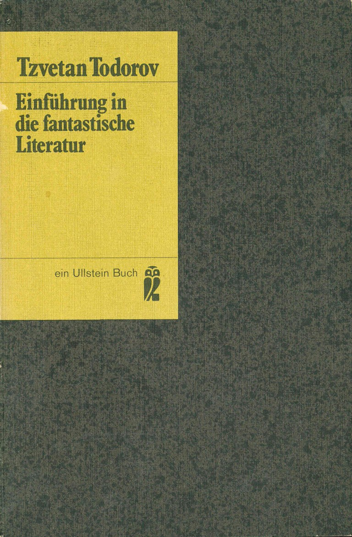 Einführunh in die fantastische Literatur, Ullstein - Titelcover