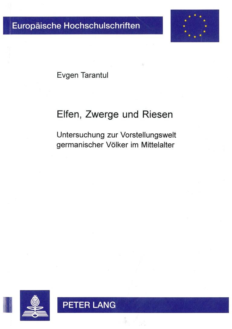 Elfen, Zwerge und Riesen - Titelcover