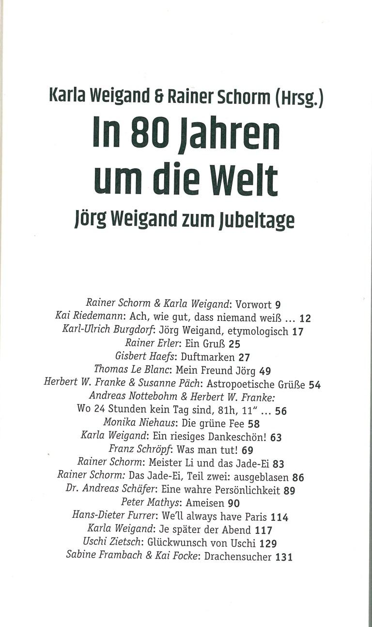 In 80 Jahren um die Welt - Inhalt Seite 1