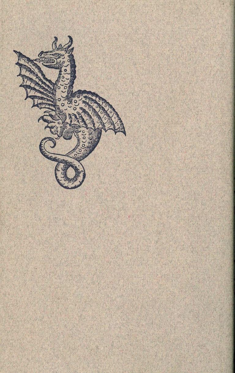 Einhorn, Sphinx und Salamander - Rückencover