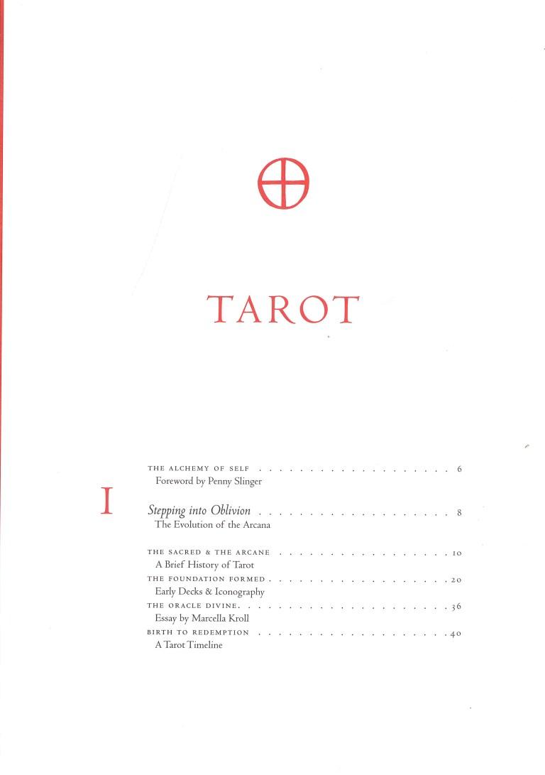 Tarot - Inhalt Seite 1