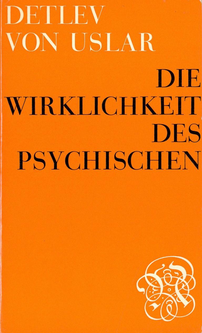 Die Wirklichkeit des Psychischen - Titelcover