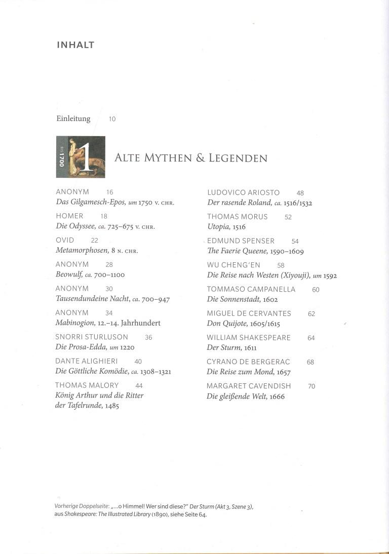 Wonderlands - Inhalt Seite 1