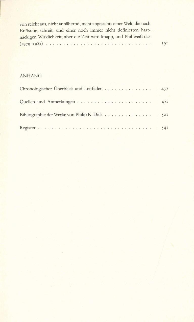 P.K.Dick Göttliche Überfälle - Inhalt Seite 3