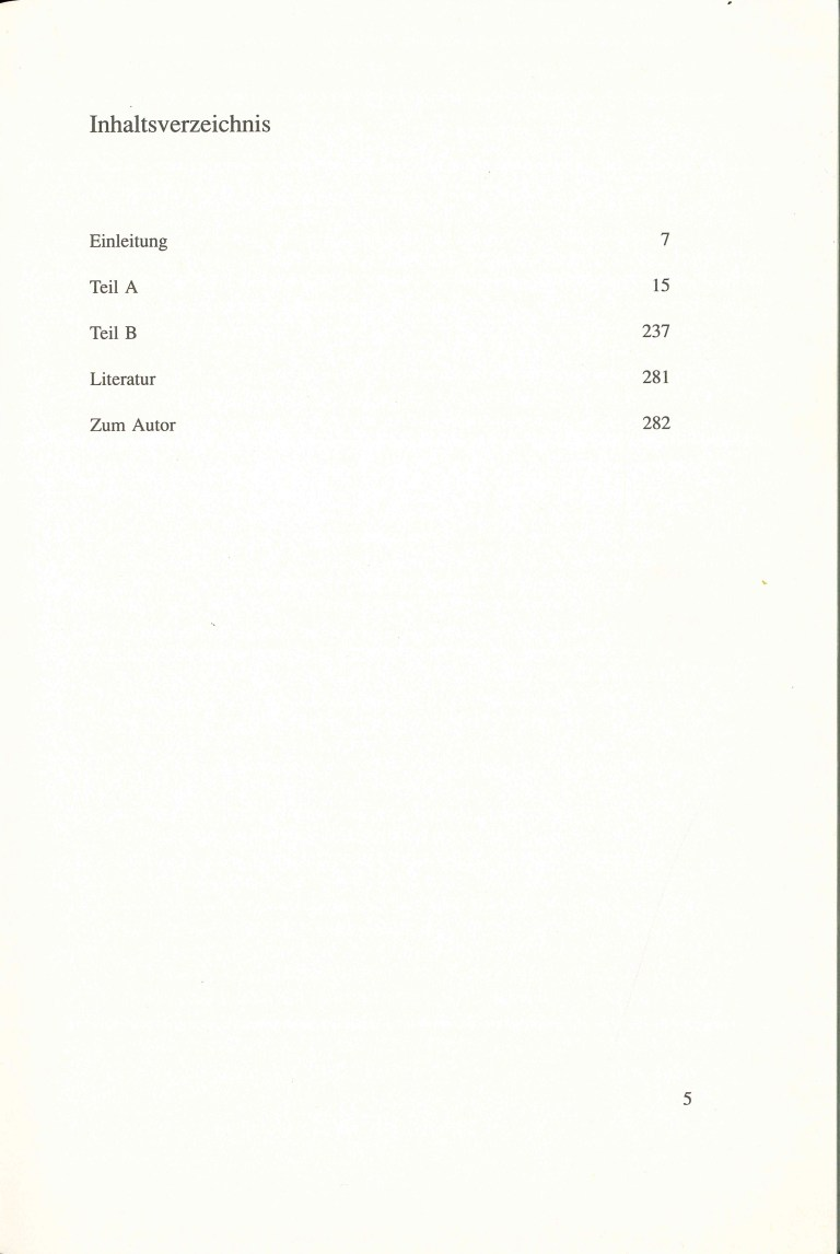 Pseudonyme, 1. Aufl. - Inhalt