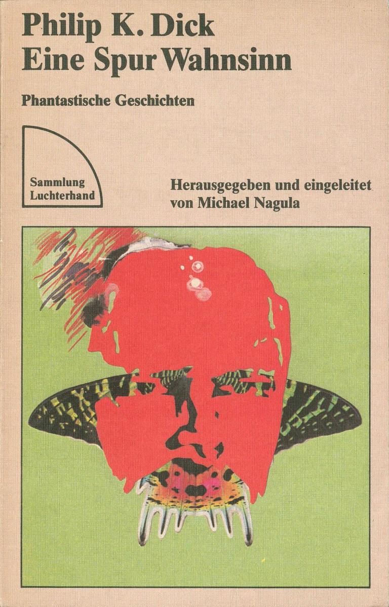 P. K. Dick-Eine Spur Wahnsinn - Titelcover