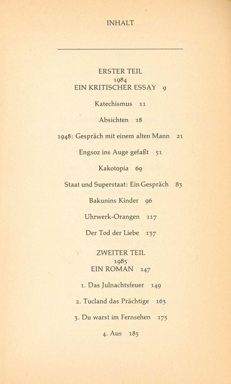 1985 - Inhalt Seite 1