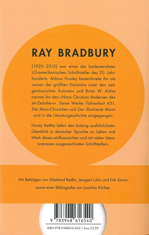 Ray Bradbury - Rückencover