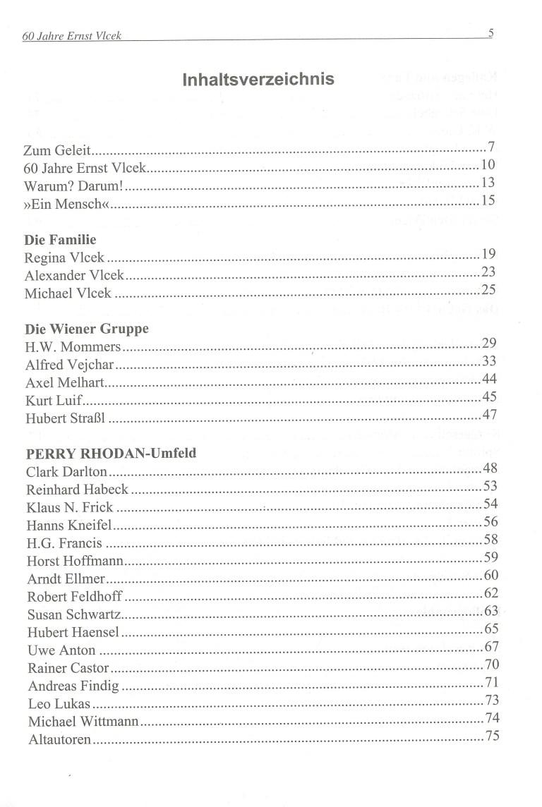 Autor, Mensch, Terraner - Inhalt Seite 1