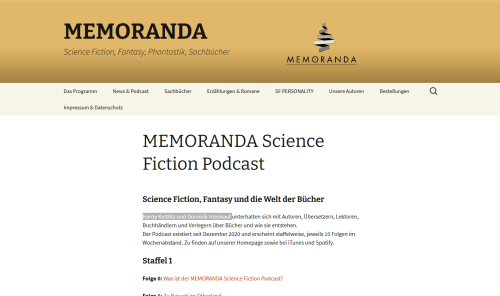 memoranda.de - 2021-08-27