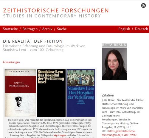 zeothistorische Forschungen - 2021-09-10