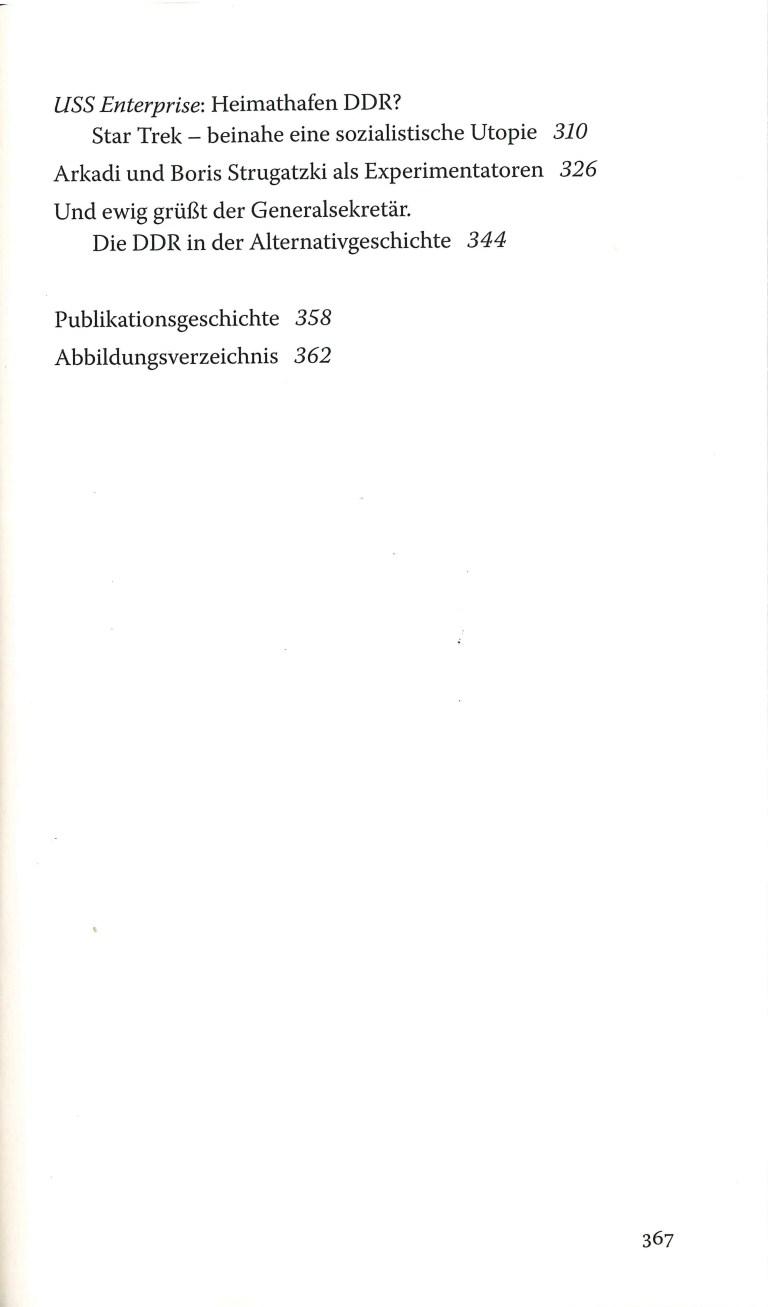 Streifzüge - Inhalt Seite 2