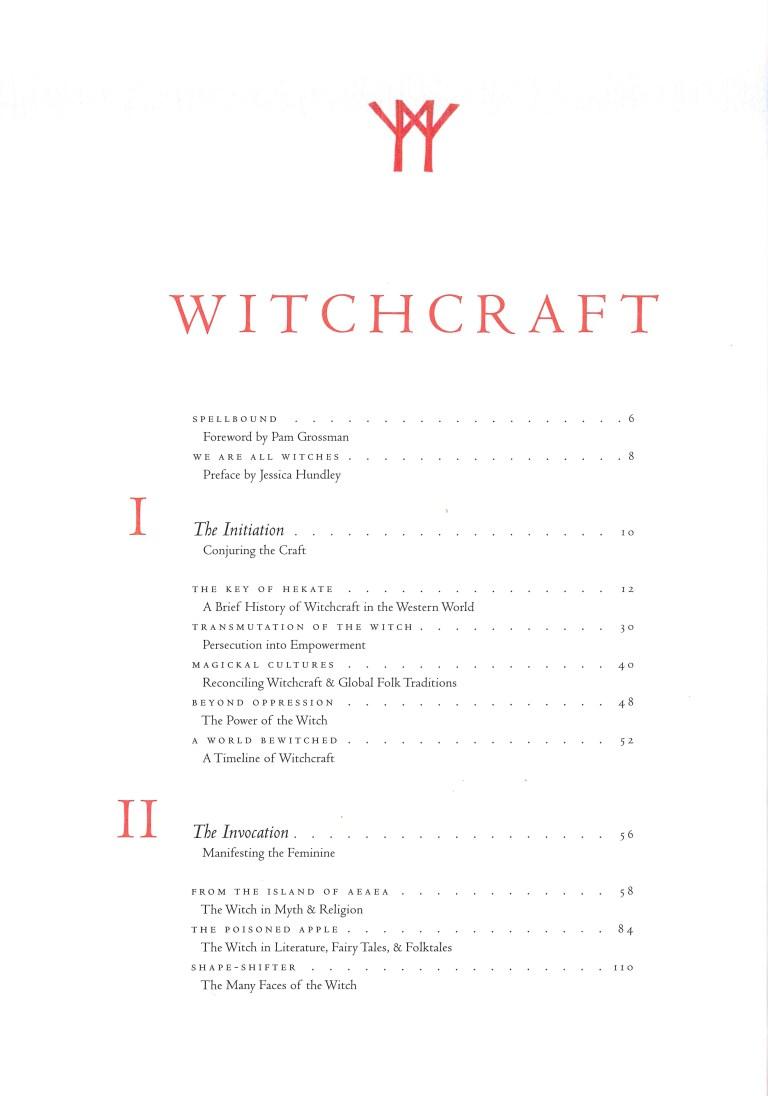 Witchcraft - Inhalt Seite 1
