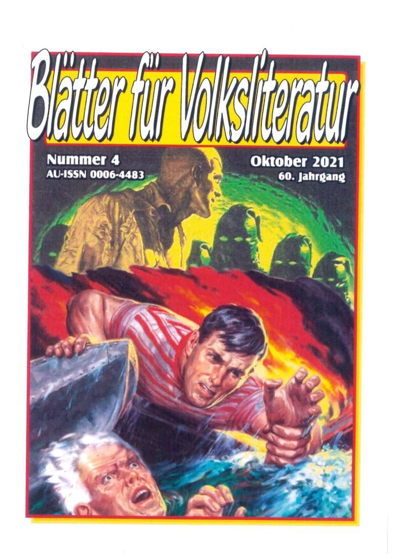 Blätter für Volksliteratur, Nr. 4, Oktober 2021 - Titelcover