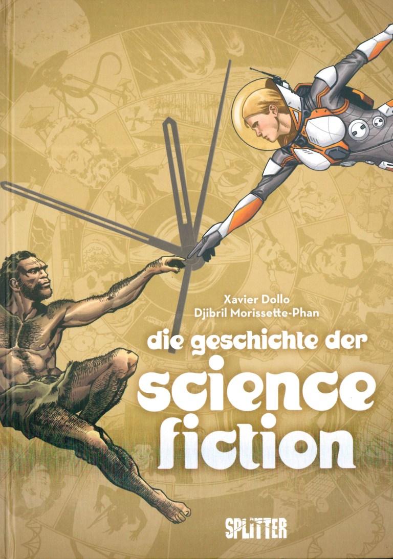 Die Geschichte der Science Fiction (Comic) - Titelcover