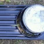 Scheinwerfergrill / Scheinwerferblende - links - VW LT 28 (runde Scheinwerfer)