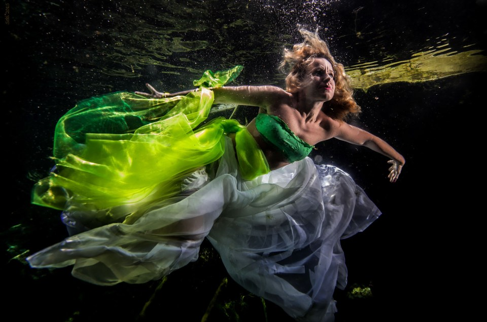 Model Underwater from Italy - Francesca