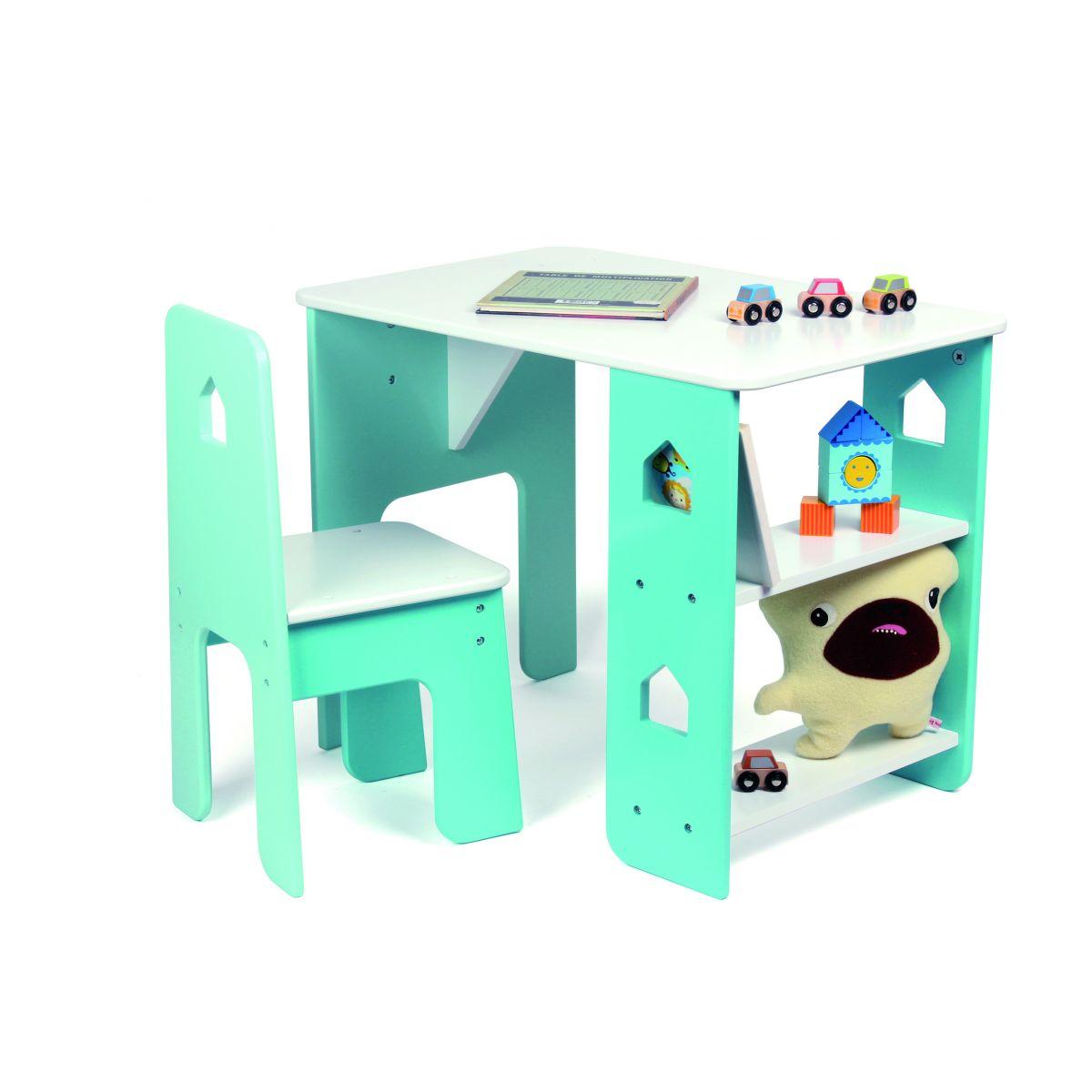 Table Bureau Et Chaise Pour Enfant Partir De 3 Ans SeBio