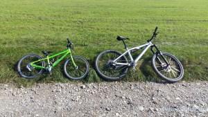 Meine Fahrräder