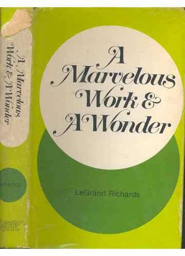 Marvelous Work And Wonder