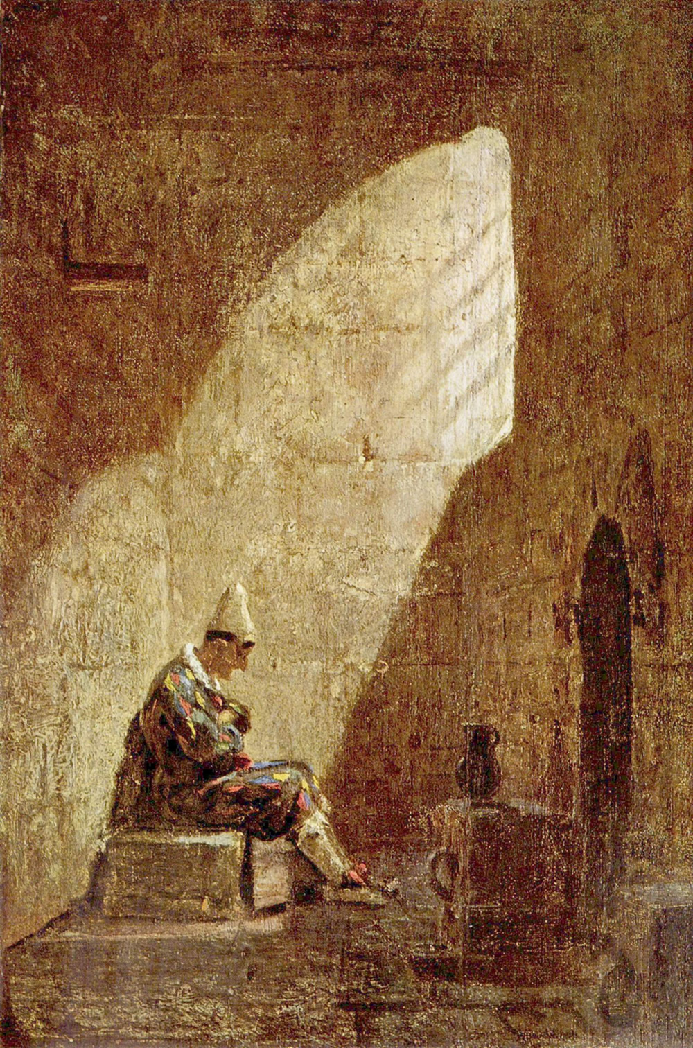 Carl Spitzweg, Ash Wednesday, Public Domain