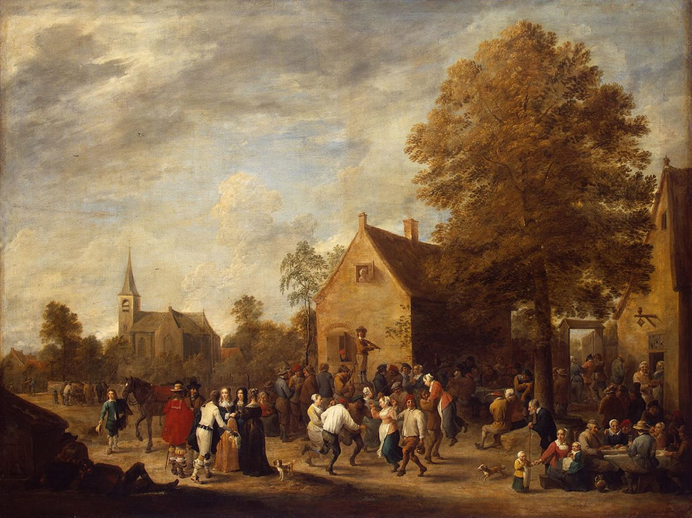 David Teniers the Younger, Rural Feast